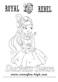 barbie swan lake coloring pages princess free gallery ideas swan