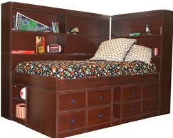 daybed stunning bedroom on twin bookcase headboard and storage