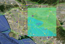 Map Of Los Angeles And Surrounding Areas by Slumgullion Imaging Hows And Whys Of A Landslide Nasa