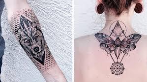 you u0027ll love these geometric animal tattoos so bad so good
