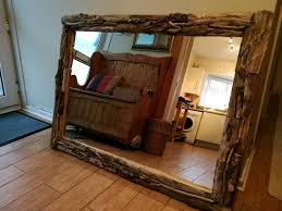 a beautiful large driftwood mirror in swansea gumtree