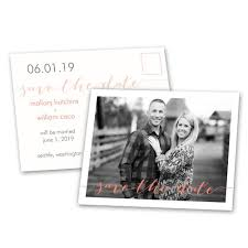 save the date postcard photo feature save the date postcard s bridal bargains