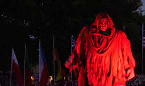 hd halloween overlord u0027s scaremony 2015 kings dominion halloween haunt hd 60fps