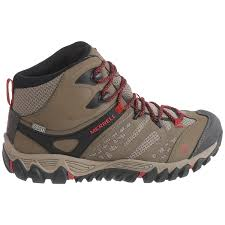 merrell womens hiking boots sale merrell all out blaze ventilator mid hiking boots for