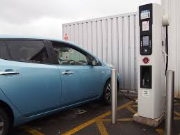 nissan leaf charging points an electric road trip to wales autovolt magazine