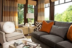 Transitional Interior Design Ideas by Wonderful Brown Green Drapes Decorating Ideas Gallery In Bedroom