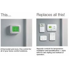 Honeywell Portable Comfort Control Buy Honeywell Visionpro Iaq Programmable Universal Thermostat With