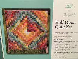 half moon quilt kit by kaffe fassett for freespirit