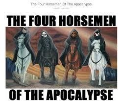 Meme Team - meme team four horsemen of the apocalypse know your meme