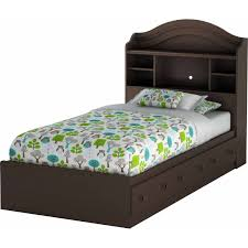twin bed with bookcase headboard and storage twin bed with bookcase headboard 19