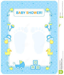 baby shower for boy baby shower card for boys stock vector illustration of duck
