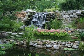 backyard waterfall landscape ideas backyard