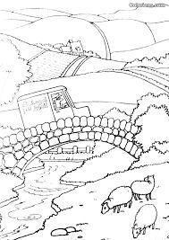 postman pat 109 cartoons u2013 printable coloring pages
