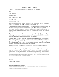 Cover Letter For Any Job Opening Address Cover Letter Image Collections Cover Letter Ideas
