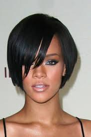 rihanna inverted bob haircut popular long hairstyle idea