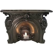 mid victorian cast iron fire place mantels modern and modern