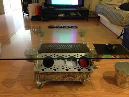 Clock Coffee Table by Bmw V8 Engine Coffee Table Rockford Fosgate Subwoofer Clock