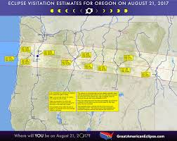 Bend Oregon Map Oregon Eclipse U2014 Total Solar Eclipse Of Aug 21 2017
