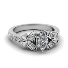 vintage style engagement rings find extensive selection of milgrain engagement rings