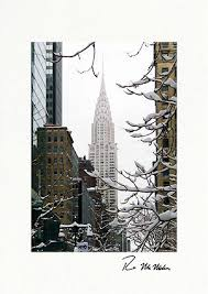 personalized boxed christmas cards building winter new york city boxed cards