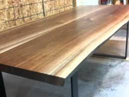Walnut Slab Table by Living Edge Wood Slab Bedroom And Living Room Image Collections