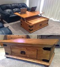 Lift Top Coffee Tables Storage Chest Coffee Table Lift Top Coffee Table With Storage For Blankets