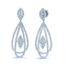 teardrop diamond earrings diamond teardrop earrings ebay