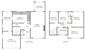 free house floor plans blueprint software try smartdraw free concept plans 2d house floor