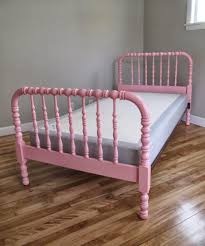 Antique Jenny Lind Twin Bed by Blue Lamb Furnishings Pink Jenny Lind Spindle Spool Bed Sold