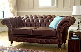Leather Chesterfields Sofas Leather Chesterfield Sofa With Vintage Leather