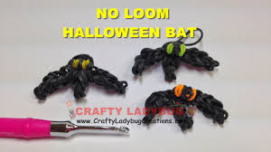 halloween charm bracelets rainbow loom bands no loom halloween bat easy charm tutorials how