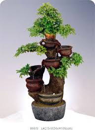 diy indoor water fountain ideas small tabletop waterfall with