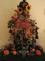 halloween tree with ornaments complete list of halloween decorations ideas in your home