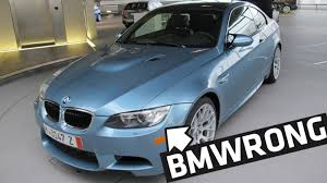 forum trashes bmw owner who had m3 delivered in wrong shade of blue