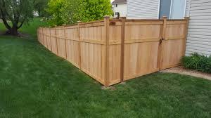 fencing contractor minneapolis wood cedar vinyl aluminum