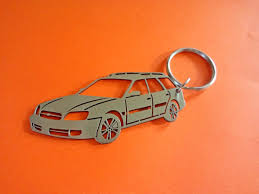 orange subaru forester subaru outback key chain personalized keychain car keychain
