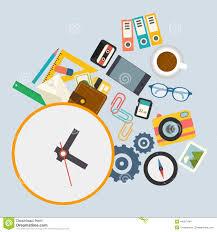 horaire de bureau infographics de vecteur l horaire de travail au bureau illustration