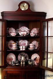 What To Put In A Curio Cabinet House At Forest Manor Autumn Into Christmas