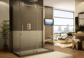 heavy glass shower door shower shower doors amazing glass shower barn door loving this