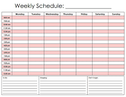 Hourly Gantt Chart Excel Template Hourly Calendar Template 6 Printable Hourly Calendar Resume