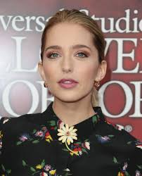 jessica rothe at halloween horror nights opening night in