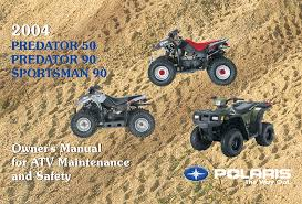 polaris offroad vehicle predator 50 pdf owner u0027s manual free