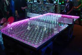 ping pong table rental near me led ping pong table tennis rental led glowing ping pong table