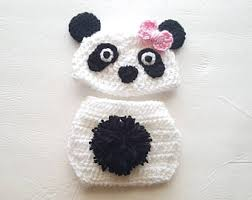 Girls Panda Halloween Costume Panda Costume Etsy