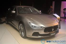 maserati coupe 2014 launch 2014 maserati ghibli sports sedan starting from rm538 800
