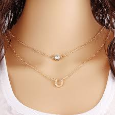 small chain necklace images Online shop fashion design small accessories necklace horseshoe jpg