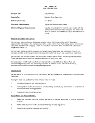 chemical operator resume best multi talented machine operator resume example with work