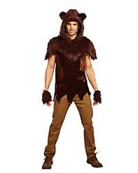 Fur Halloween Costumes Faux Fur Papa Bear Costume Halloween Bear