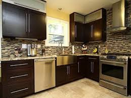 Black And Brown Kitchen Cabinets Kitchen Remodeling Stylish Black Brown Kitchen Cabinets Black