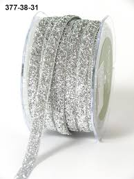 silver glitter ribbon 3 8 inch silver glitter velvet ribbon buy ribbons online